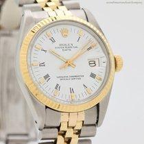Rolex Oyster Perpetual Date Arany/Acél 35mm Római