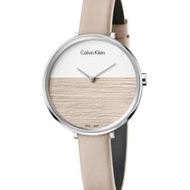 ck Calvin Klein Steel 38mm Quartz K7A231XH new