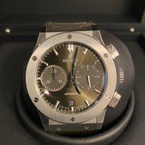 Hublot Classic Fusion Chronograph Titan 45mm Grün Keine Ziffern Deutschland, Oberbayern