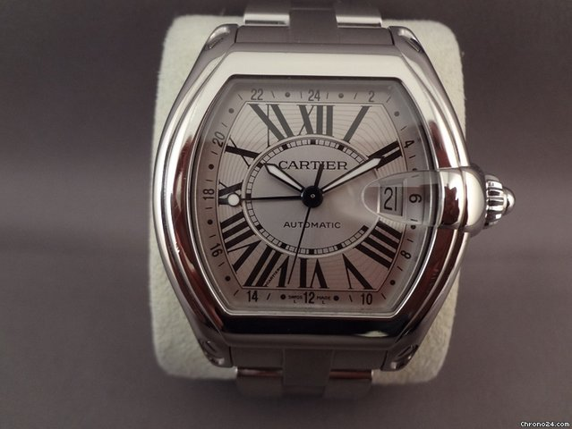 Cartier Roadster W62032X6 2005 pre-owned