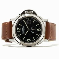 Panerai Luminor Power Reserve Aço 44mm Preto Árabes