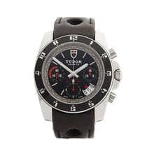 Tudor GranTour Chronograph Stainless Steel Gents 20350