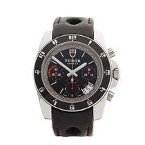 Tudor GranTour Chronograph Stainless Steel Gents 20350 - W3534