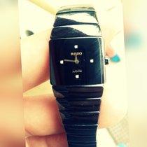 Rado DiaStar Jubile Black Ceramic Watch 153.0337.3 Great...