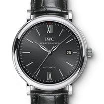 IWC Portofino Automatic Stahl 40mm Schwarz