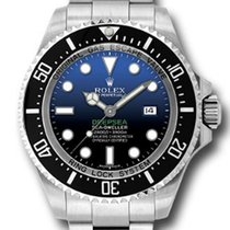 Rolex 116660 DBL Oyster Perpetual Sea-Dweller DEEPSEA Watch