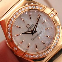 Omega Constellation ref 123.55.27.60.55.006 18k Rose Gold...