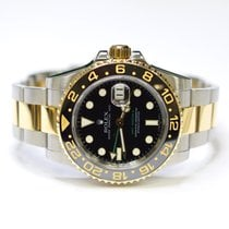 Rolex GMT Master II 40mm Stainless Steel and 18K Gold Mens...