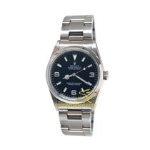 Rolex Explorer 1 Steel Case Bracelet Oyster Black Dial 36mm 14270