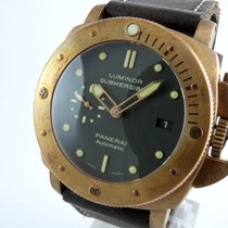 Panerai Bronze Automatic Green 47mm pre-owned Special Editions