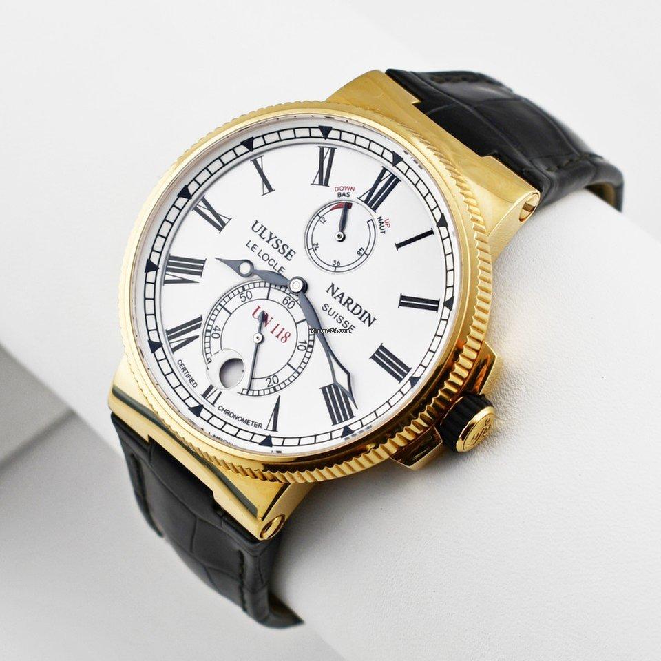 Ulysse nardin marine chronometer blue seal удобные и, в то же время, стильные часы для мужчин.