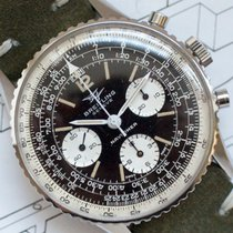 Breitling Navitimer Steel Black Arabic numerals United States of America, Virginia, Sterling