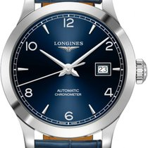 Longines Record Steel 30mm Blue United States of America, New York, Airmont