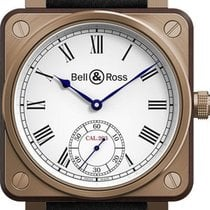 Bell & Ross BR 01 new Manual winding Watch with original box BR-01-INSTRUMENT-DE-MARINE-B-V-053