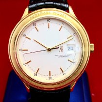 Audemars Piguet Yellow gold Automatic Silver 40mm pre-owned