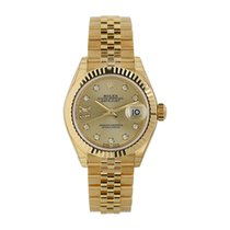 Rolex Lady-Datejust Yellow gold 28mm Champagne United States of America, New York, New York