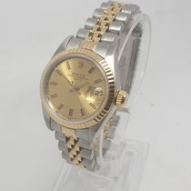 Rolex Lady-Datejust Gold/Steel 26mm Gold No numerals