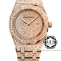 Audemars Piguet Royal Oak Lady 67654OR.ZZ.1264OR.01 New Rose gold 33mm Quartz