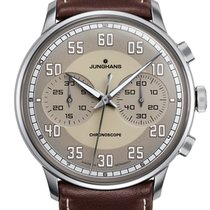 Junghans Meister Driver 027/3684.00 New Steel 40.8mm Automatic