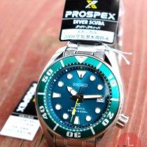 Seiko Prospex Steel 53mm Green No numerals