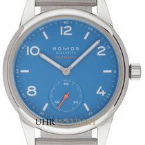 NOMOS 742 Steel 2020 Club Neomatik 37mm new