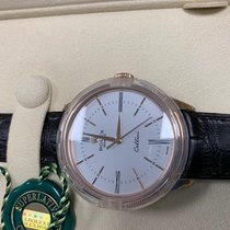 Rolex Ροζέ χρυσό Αυτόματη Άσπρο Xωρίς ψηφία 39mm καινούριο Cellini Time