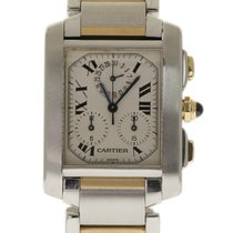 Cartier W51004Q4 Steel 2002 Tank Française 28mm pre-owned United States of America, Florida, 33132