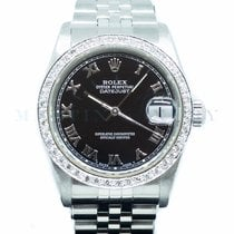 Rolex Lady-Datejust Steel 31mm Black No numerals Singapore, Singapore