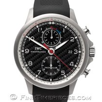 IWC Titanium Automatic Black Arabic numerals 45.4mm new Portuguese Yacht Club Chronograph