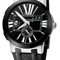 Ulysse Nardin Executive Dual Time Steel Black United States of America, New York, Brooklyn