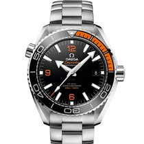 Omega Seamaster Planet Ocean Steel 43.5mm Black No numerals
