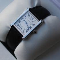 Cartier WSTA0028 Stahl Tank Solo 34,8mm