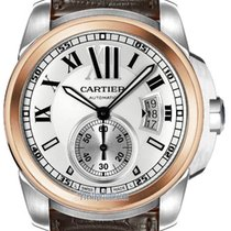 Cartier new Automatic Only Original Parts 42mm Gold/Steel