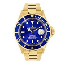 Rolex Submariner 18K Yellow Gold Watch