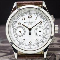 Patek Philippe 5170G-001 Chronograph 18K White Gold / Silver...