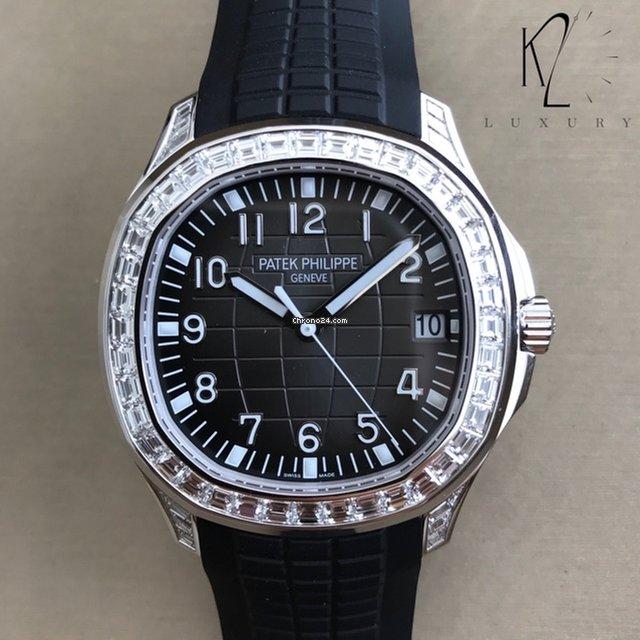 2e8aa81cd6f Patek Philippe Aquanaut Ouro branco - Todos os preços de relógios Patek  Philippe Aquanaut Ouro branco na Chrono24