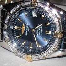 Breitling Callisto 18K Gold 34mm Midsize Diamond