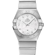 Omega Constellation Quartz 123.10.27.60.55.003 2020 nuevo