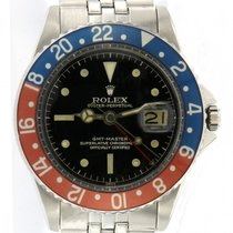 Rolex GMT-Master 1675 Very good Steel 38mm Automatic