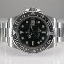 Rolex 116710 Gmt Master II Ceramic Stainless Steel Automatic...
