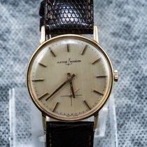 Ulysse Nardin Or jaune 36mm Remontage manuel 95493 occasion