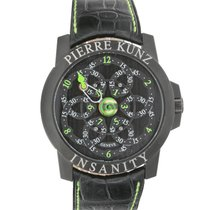 Pierre Kunz Chronograph 44mm Automatic pre-owned Black