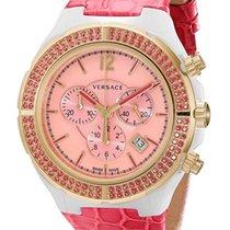 Versace Kerámia Kvarc Pink Arab 43mm új