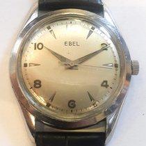 Ebel Classic Steel 33mm Silver Arabic numerals