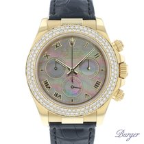 Rolex Daytona Yellow gold 40mm Mother of pearl Roman numerals
