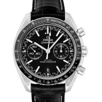 Omega Steel Automatic Black 44.25mm new Speedmaster Racing