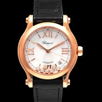Chopard Automatic Mother of pearl 36.00mm new Happy Sport