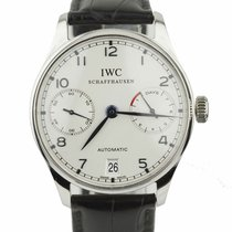 IWC Portuguese Automatic Steel 42mm Grey Arabic numerals United States of America, New York, Lynbrook