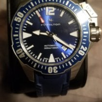 Hamilton Khaki Navy Frogman Steel 42mm Blue