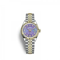 Rolex Lady-Datejust 2791730017 New Gold/Steel 28mm Automatic